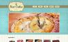 Адаптивный HTML шаблон №47639 на тему хлебобулочные изделия New Screenshots BIG