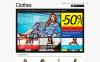 Адаптивный PrestaShop шаблон №47632 на тему магазин одежды New Screenshots BIG