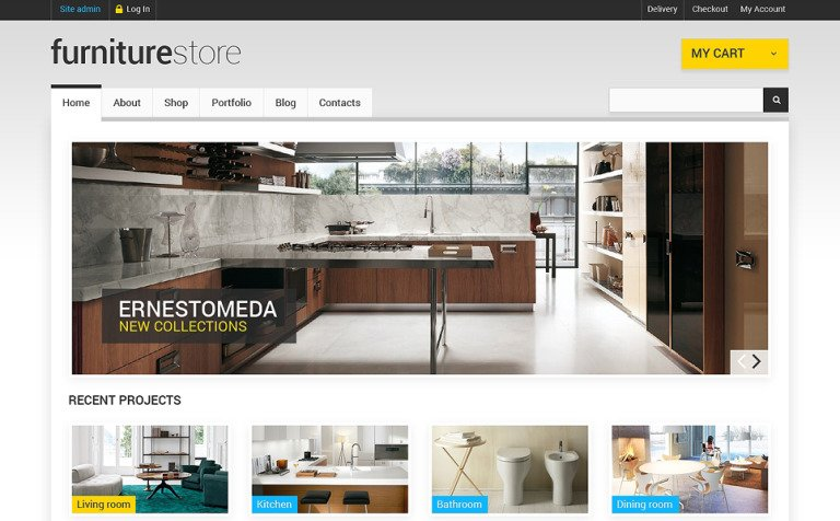 Comfortable Furniture WooCommerce Theme