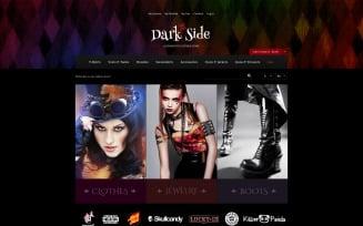 Dark Side Magento Theme