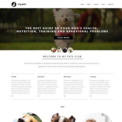 29 best dog website templates. Black Bedroom Furniture Sets. Home Design Ideas