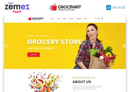 Grocery Store Responsive