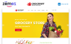 Grocmart - Grocery Store Multipage Classic HTML Template Web №47684 Screenshot Grade