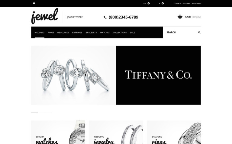 Jewelry Boutique PrestaShop Theme