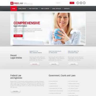Best Lawyer Website Templates - Lawyer website template