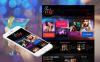Luxusní Moto CMS HTML šablona na téma Noční kluby New Screenshots BIG
