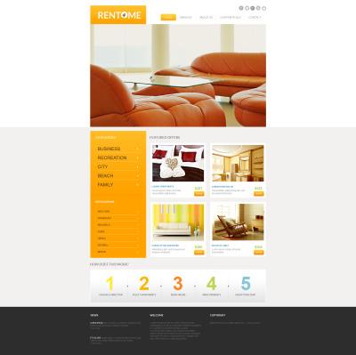 MotoCMS HTML шаблон №47651 на тему агентство недвижимости