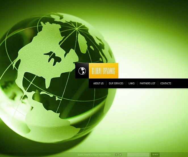 Premium Accounting Website Templates Flash Cms Şablon New Screenshots BIG