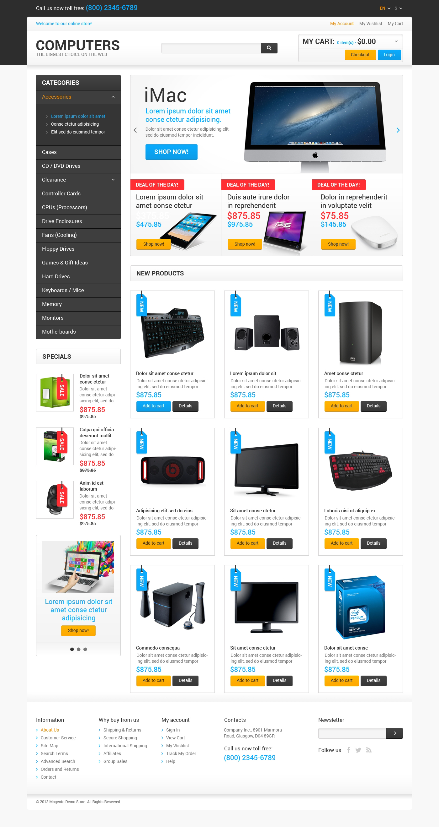 Responsive Best Computers on the Net Magento #47677