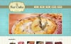 Responsive Website Vorlage für Bäckerei  New Screenshots BIG