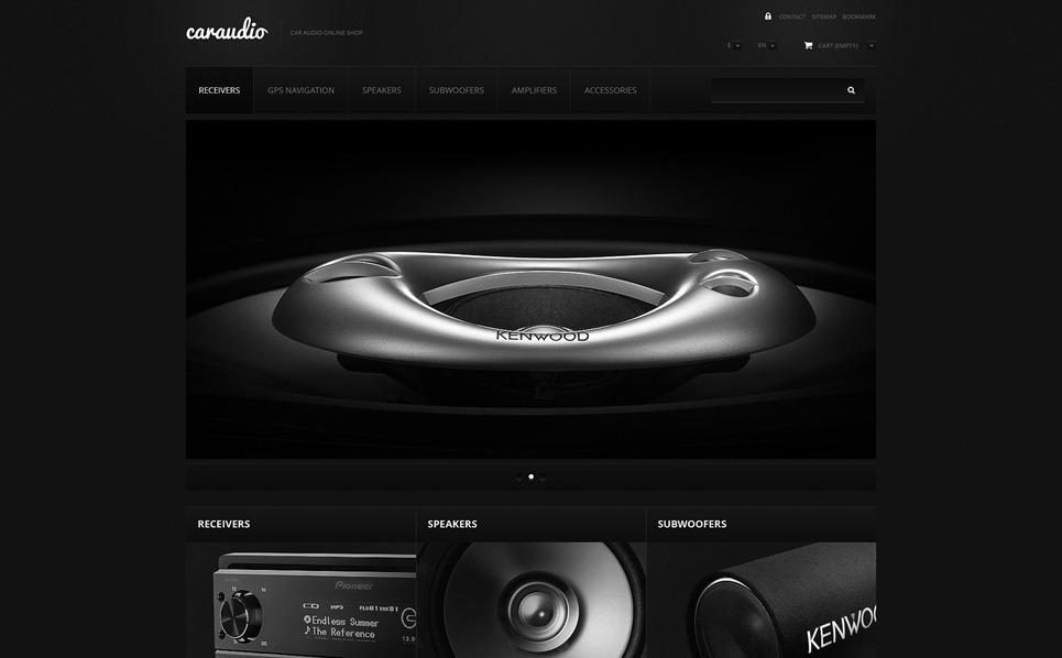 Responsywny szablon PrestaShop #47690 na temat: audio samochodowe New Screenshots BIG