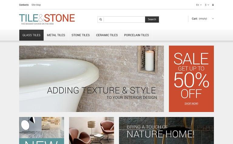 Tile Stone PrestaShop Theme #47682