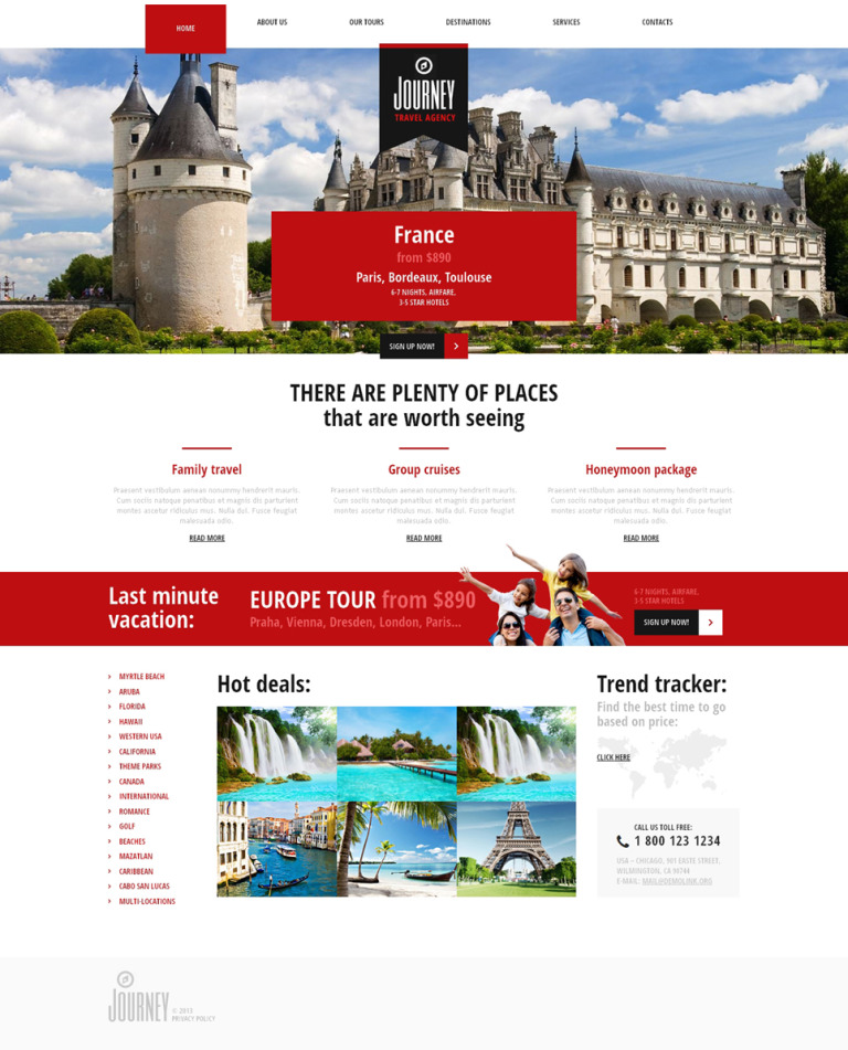 Travelling for Knowledge Joomla Template New Screenshots BIG