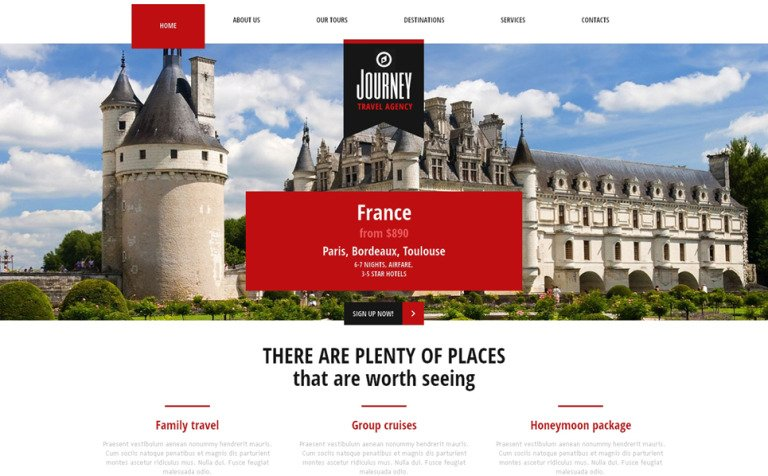 Travelling for Knowledge Joomla Template