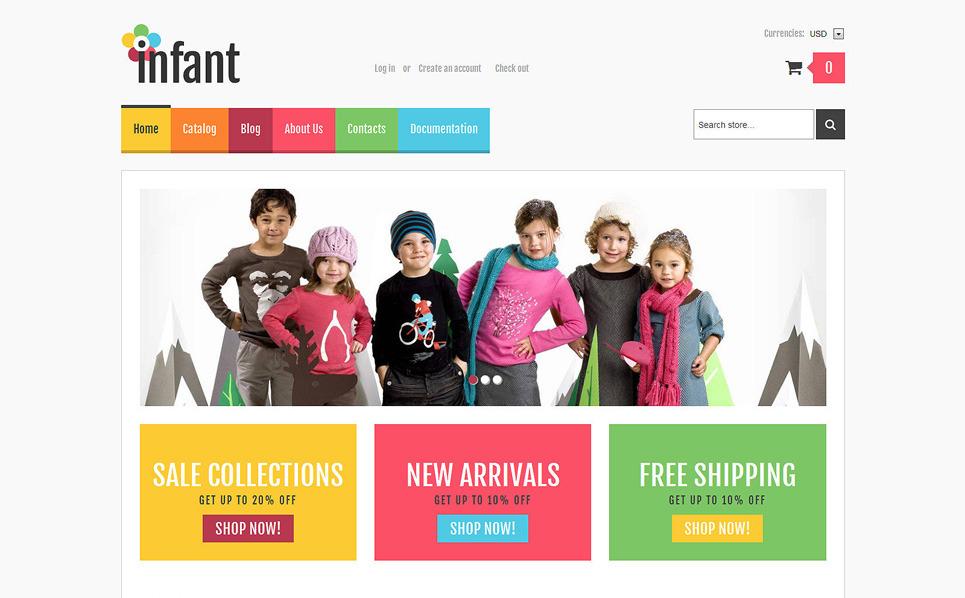 Responsywny szablon Shopify #47702 na temat: noworodek New Screenshots BIG