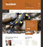 Animals & Pets Website  Template 47705