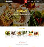Cafe & Restaurant WordPress Template 47709