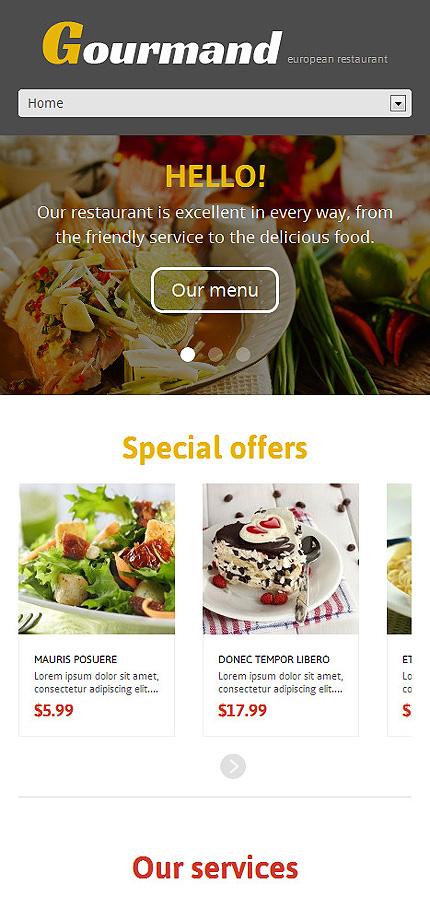 WordPress Theme/Template 47709 Main Page Screenshot