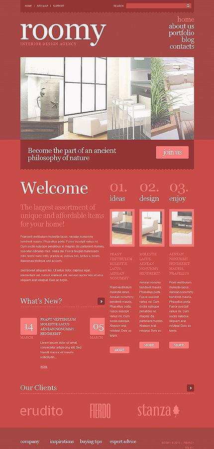 WordPress Theme/Template 47712 Main Page Screenshot