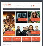 Entertainment OpenCart  Template 47716