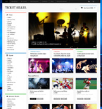 Entertainment OpenCart  Template 47718