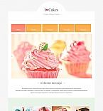 Food & Drink Moto CMS HTML  Template 47727
