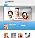 Education Moto CMS HTML  Template 47738