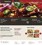 Cafe & Restaurant Moto CMS HTML  Template 47742