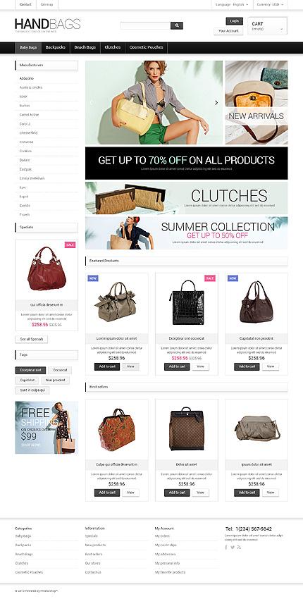 ADOBE Photoshop Template 47744 Home Page Screenshot