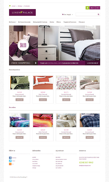 ADOBE Photoshop Template 47746 Home Page Screenshot
