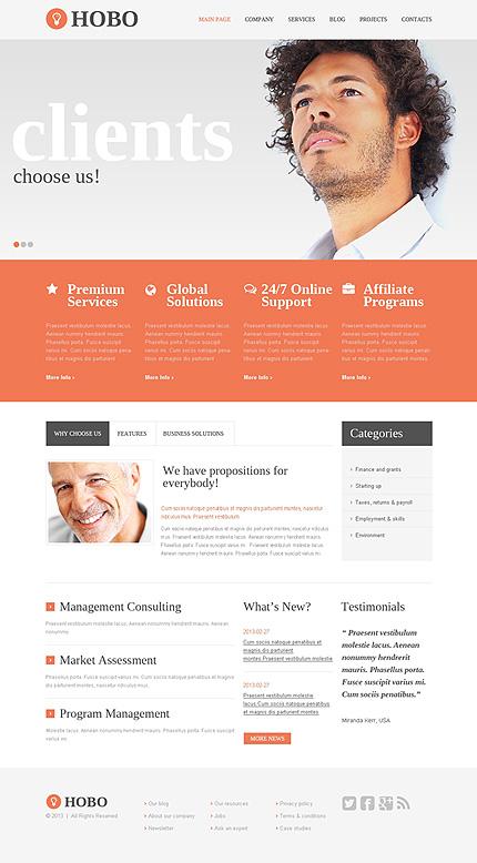 Drupal Template 47753 Main Page Screenshot