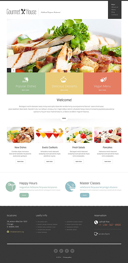 Joomla Theme/Template 47756 Main Page Screenshot