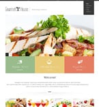 Cafe & Restaurant Joomla  Template 47756
