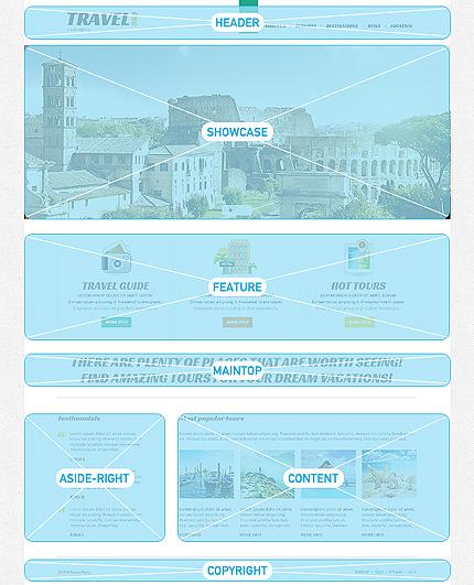 Joomla Theme/Template 47758 Main Page Screenshot