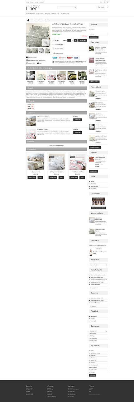 ADOBE Photoshop Template 47774 Home Page Screenshot