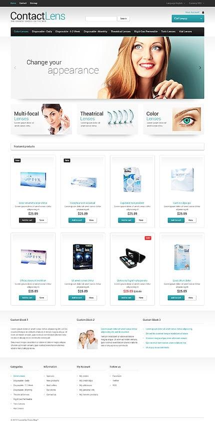 ADOBE Photoshop Template 47775 Home Page Screenshot