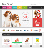 Animals & Pets OpenCart  Template 47776