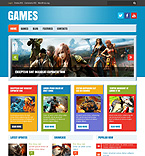 Entertainment WordPress Template 47780