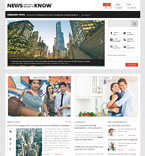 Media WordPress Template 47781