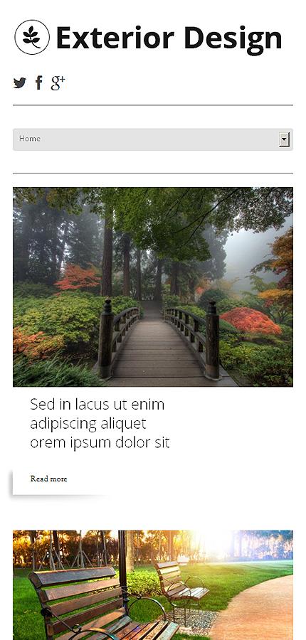 WordPress Theme/Template 47784 Main Page Screenshot