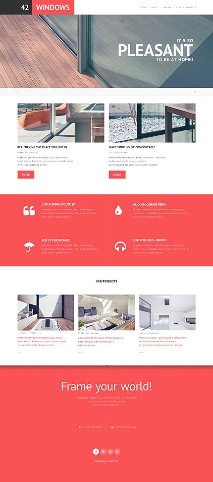 WordPress Theme/Template 47785 Main Page Screenshot