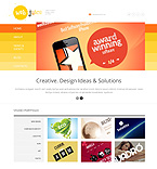 Web design WordPress Template 47787
