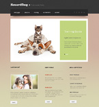 Animals & Pets Website  Template 47790