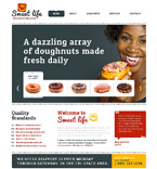 Food & Drink Website  Template 47791