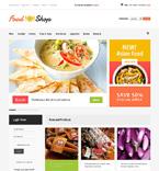 Food & Drink VirtueMart  Template 47794