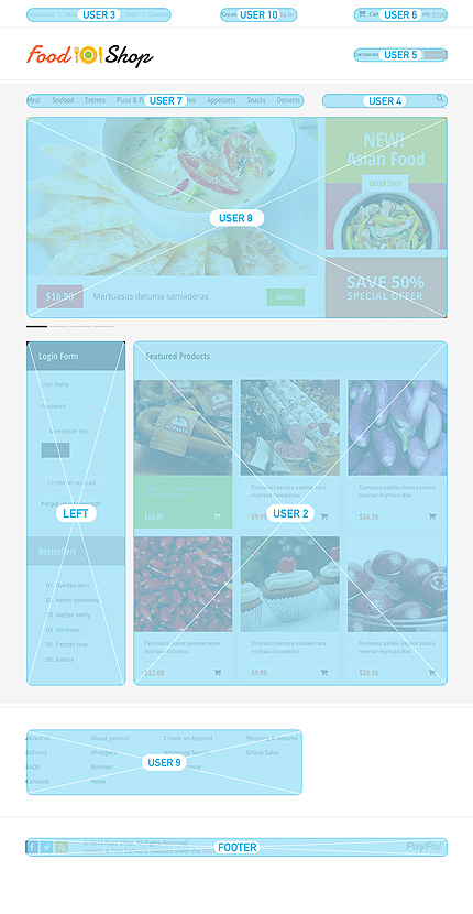 ADOBE Photoshop Template 47794 Home Page Screenshot