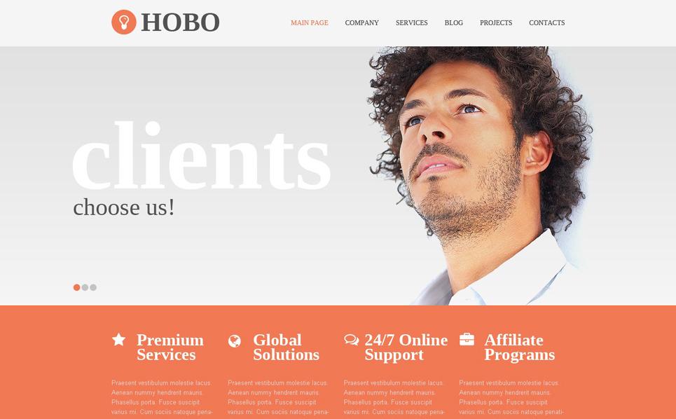 Drupal Vorlage für Dienstleistungen-für-Händler  New Screenshots BIG