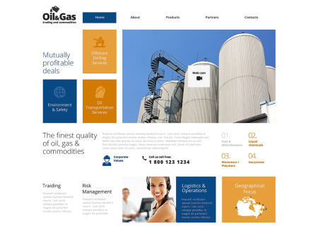Gas & Oil Responsive