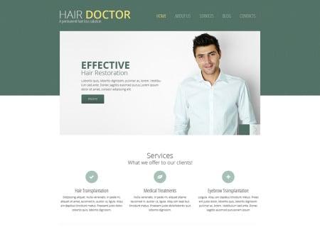 Hair Clinic Responsive