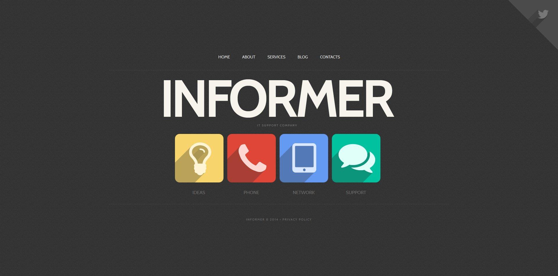IT Moto CMS HTML Template